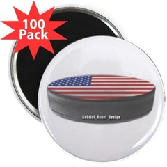"USA Hockey 2.25"" Magnet (100 pack)"
