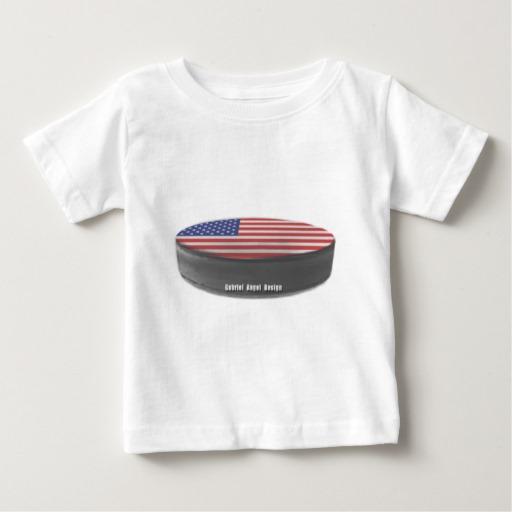USA Hockey Baby Fine Jersey T-Shirt