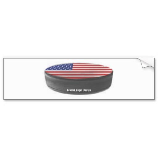 USA Hockey Bumper Sticker