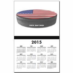 USA Hockey Calendar Print