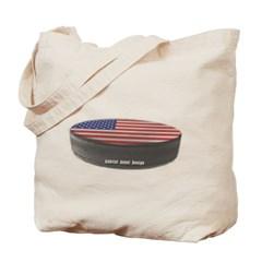 USA Hockey Canvas Tote Bag
