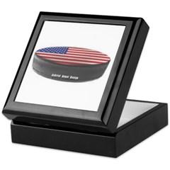 USA Hockey Keepsake Box