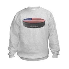 USA Hockey Kids Crewneck Sweatshirt by Hanes