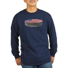 USA Hockey Long Sleeve Dark T-Shirt