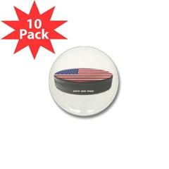 USA Hockey Mini Button (10 pack)