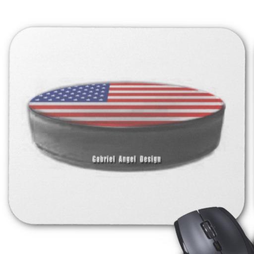 USA Hockey Mousepad