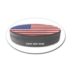 USA Hockey Oval Decal