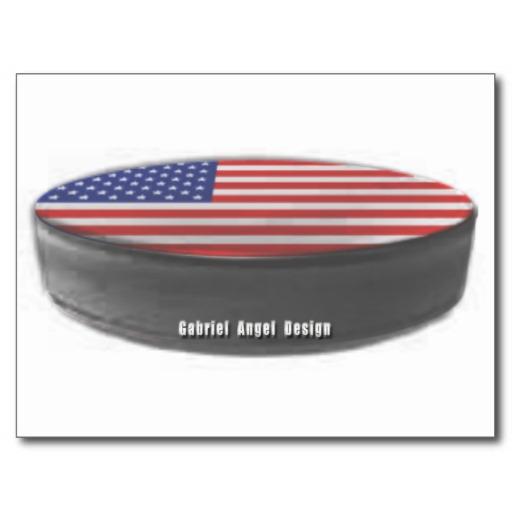 USA Hockey Postcard