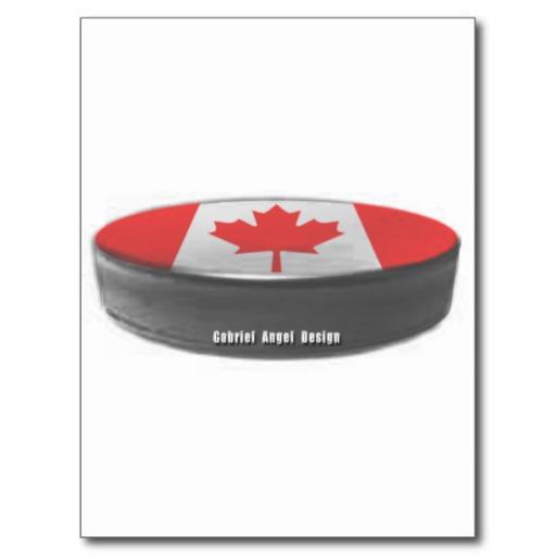 Canada Hockey Postcard