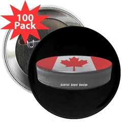 "Canadian Hockey 2.25"" Button (100 pack)"