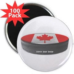 "Canadian Hockey 2.25"" Magnet (100 pack)"