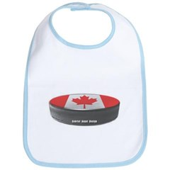 Canadian Hockey Baby Bib