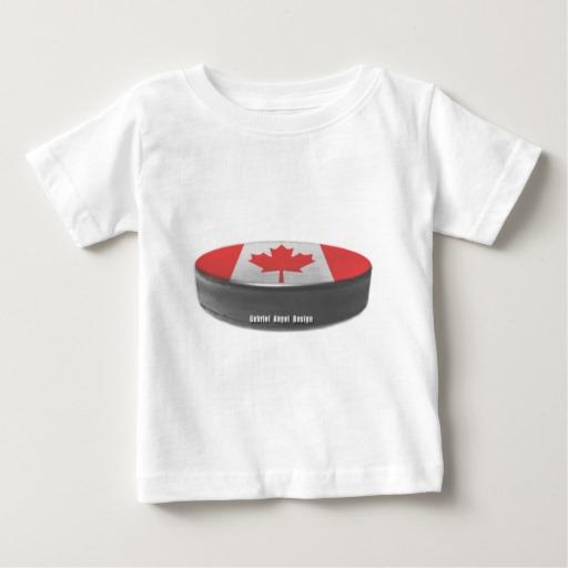 Canadian Hockey Baby Fine Jersey T-Shirt