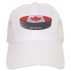 Canadian Hockey Baseball Cap