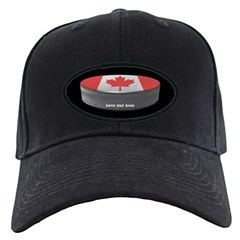 Canadian Hockey Baseball Hat