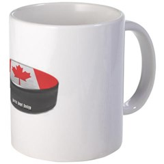 Canadian Hockey Coffee Mug