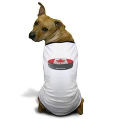 Canadian Hockey Dog T-Shirt