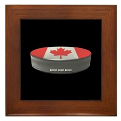 Canadian Hockey Framed Tile