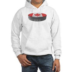Canadian Hockey Hooded Sweatshirt