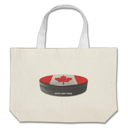 Canadian Hockey Jumbo Tote