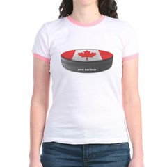 Canadian Hockey Junior Ringer T-Shirt