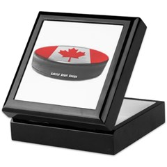 Canadian Hockey Keepsake Box
