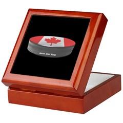 Canadian Hockey Keepsake Box