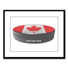 Canadian Hockey Large Framed Print