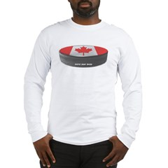 Canadian Hockey Long Sleeve T-Shirt