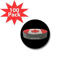 Canadian Hockey Mini Button (100 pack)