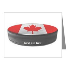 Canadian Hockey Note Cards (Pk of 10)