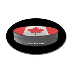 Canadian Hockey Oval Decal