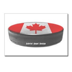 Canadian Hockey Postcards (Package of 8)