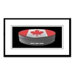 Canadian Hockey Small Framed Print