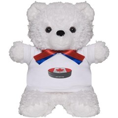 Canadian Hockey Teddy Bear