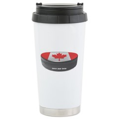 Canadian Hockey Travel Mug