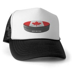 Canadian Hockey Trucker Hat
