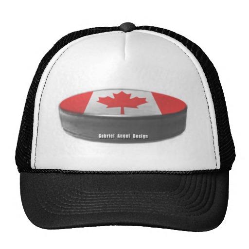 Canadian Hockey Trucker Hat