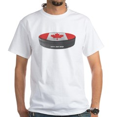 Canadian Hockey White T-Shirt