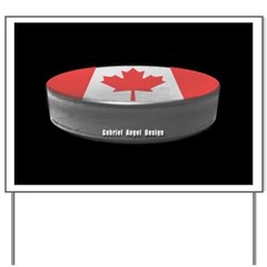 Canadian Hockey Yard Sign