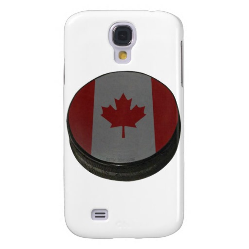 Canadian Hockey Puck Case-Mate Barely There Samsung Galaxy S4 Case
