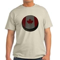 Canadian Hockey Puck Classic T-Shirt