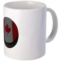 Canadian Hockey Puck Coffee Mug