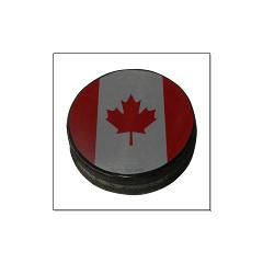 Canadian Hockey Puck Large Posters
