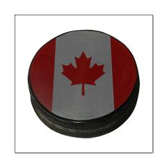 Canadian Hockey Puck Posters