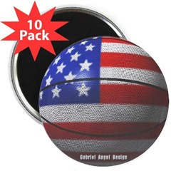 "USA Basketball 2.25"" Magnet (10 pack)"