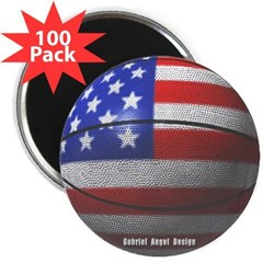 "USA Basketball 2.25"" Magnet (100 pack)"