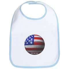 USA Basketball Baby Bib