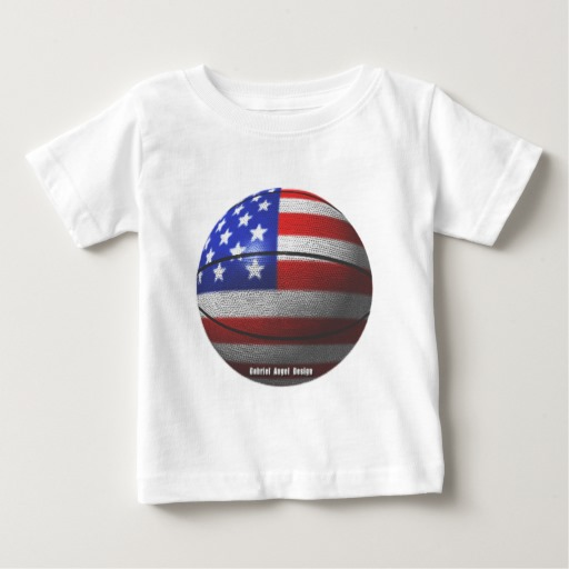 USA Basketball Baby Fine Jersey T-Shirt