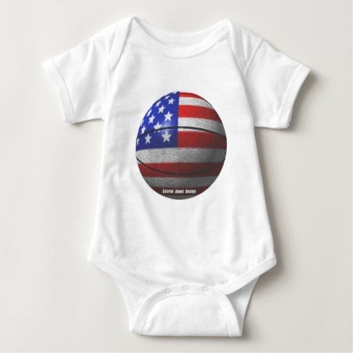 USA Basketball Baby Jersey Bodysuit